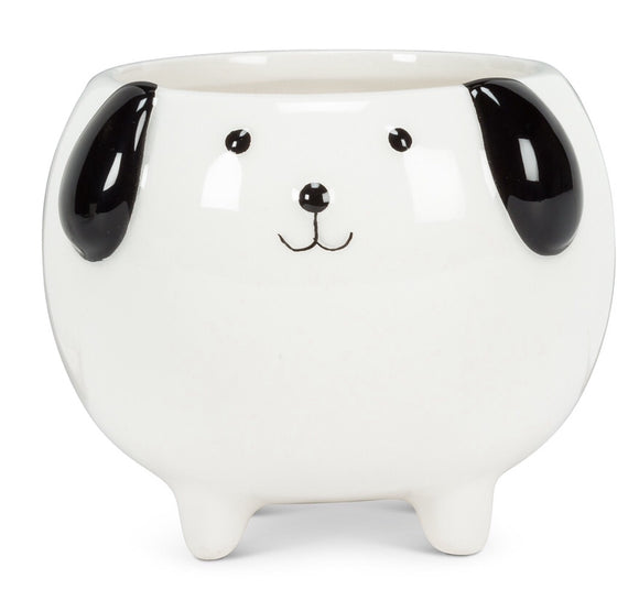 Small Dog On Legs Planter-3""