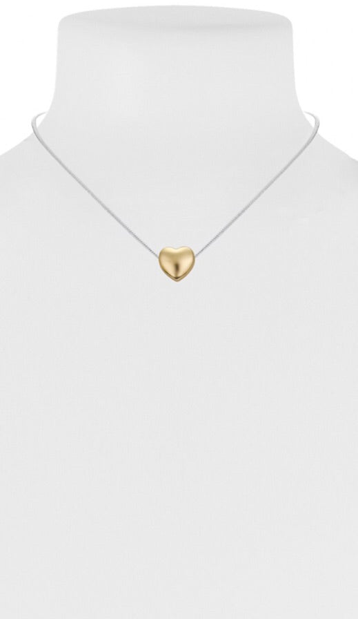 Little Heart Pendant Necklace  — Gold