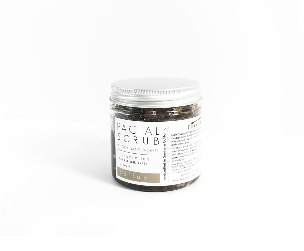 Facial Coffee Scrub