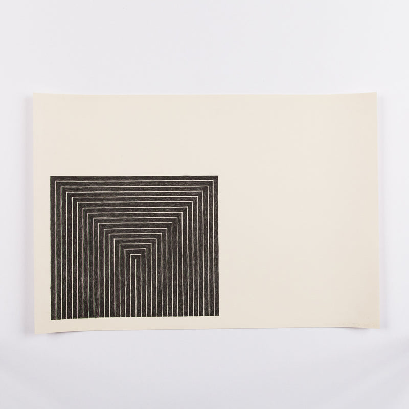 Frank Stella Black Paintings prints Caviar20