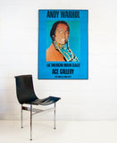 "ANDY WARHOL ""INDIAN"" GIANT POSTER, 1977"
