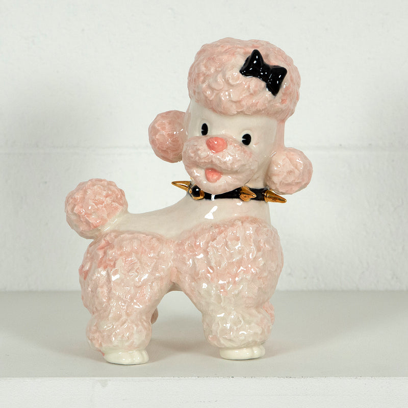 Pansy Ass Ceramics, Puppy Poodle Play, Porcelain and 22 Carat Gold, 2020 Caviar20