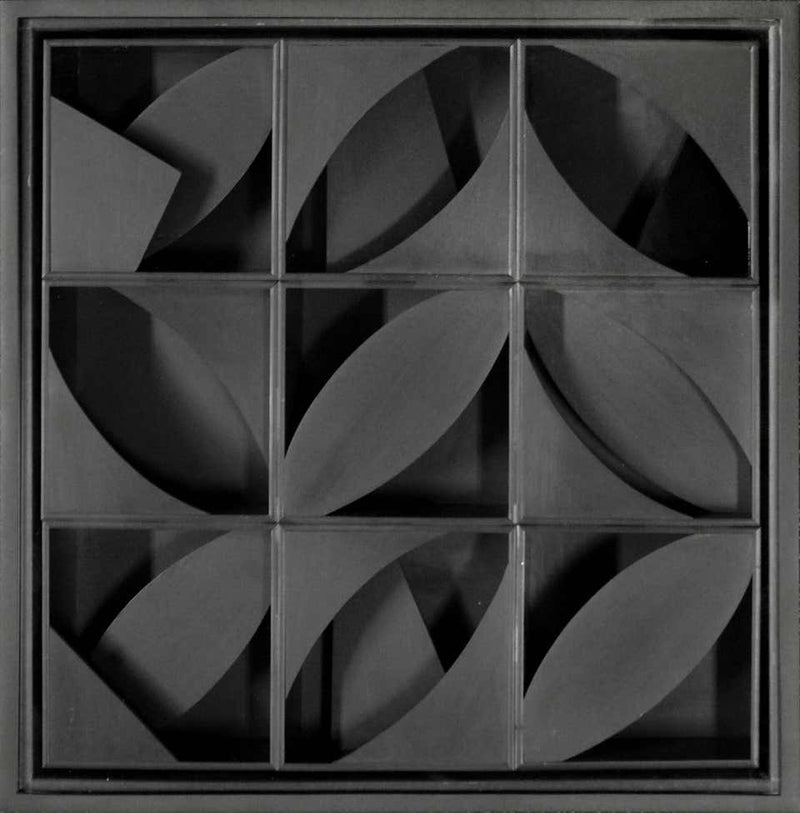 "LOUISE NEVELSON ""NIGHT LEAF"" SCULPTURE, 1969"