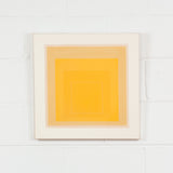 "JOSEF ALBERS ""YELLOW LEVELS"" WLS-I, 1966"