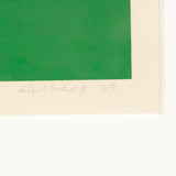 "JOSEF ALBERS ""IS VA I"" 1969"