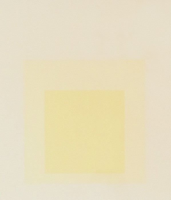 "JOSEF ALBERS ""GRAY INSTRUMENTATION II"" SCREENPRINT, 1974"