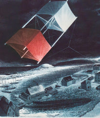 "DAVID BLACKWOOD ""UNCLE CLUNY'S KITE OVER WESLEYVILLE"", 1989"