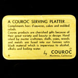 "COUROC ""CORAL"" TRAY"
