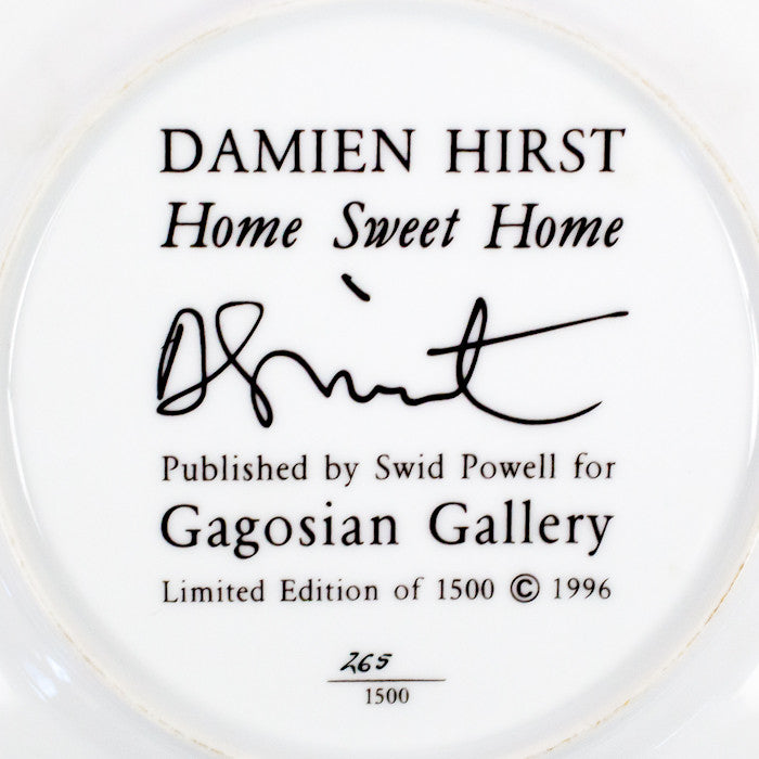 "DAMIEN HIRST ""HOME SWEET HOME"" 1996"