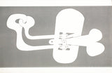 "SOREL ETROG ""UNTITLED SCULPTURE"" INTAGLIO, 1969"