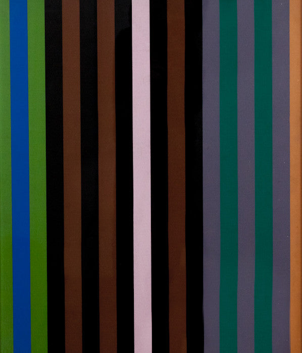 "GENE DAVIS ""SERIES 1"" SCREENPRINT ON CANVAS, 1969"