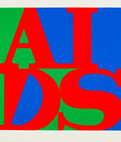 General Idea AIDS screenprint Caviar20