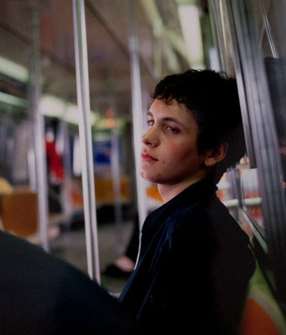 "NAN GOLDIN ""SIMON ON THE SUBWAY NYC, 1998"""