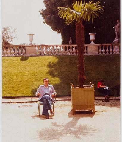 "DAVID HOCKNEY ""LUXEMBOURG"" PHOTO, 1974"