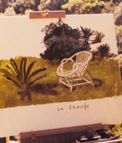 "DAVID HOCKNEY ""LA CHAISE"" 1973"