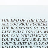 "JENNY HOLZER ""END OF THE USA"" INFLAMMATORY ESSAYS, 1982"