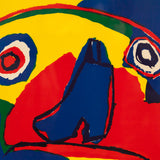 "KAREL APPEL ""PRIMARY PUPPY"" LITHO, 1969"