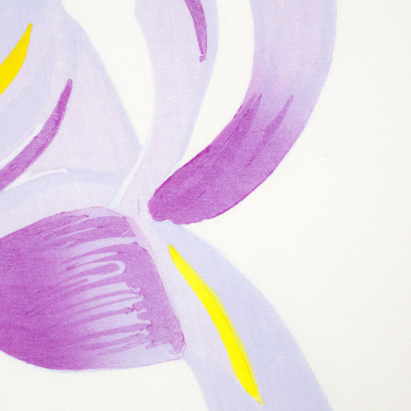 "ALEX KATZ ""BLUE FLAGS / IRISES"" , 2014"