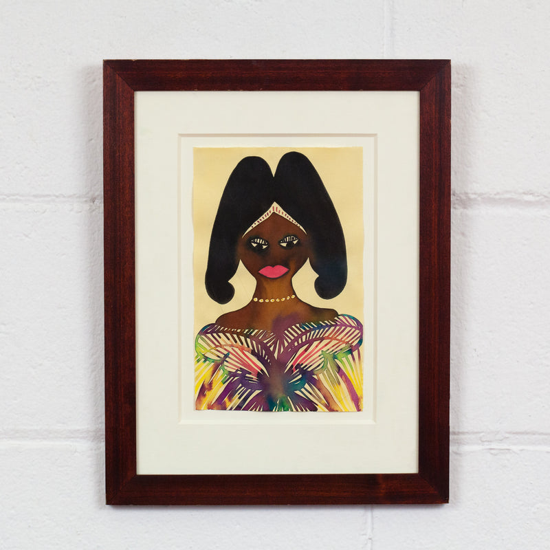 "CHRIS OFILI ""UNTITLED (ROYAL PORTRAIT)"" 2001"