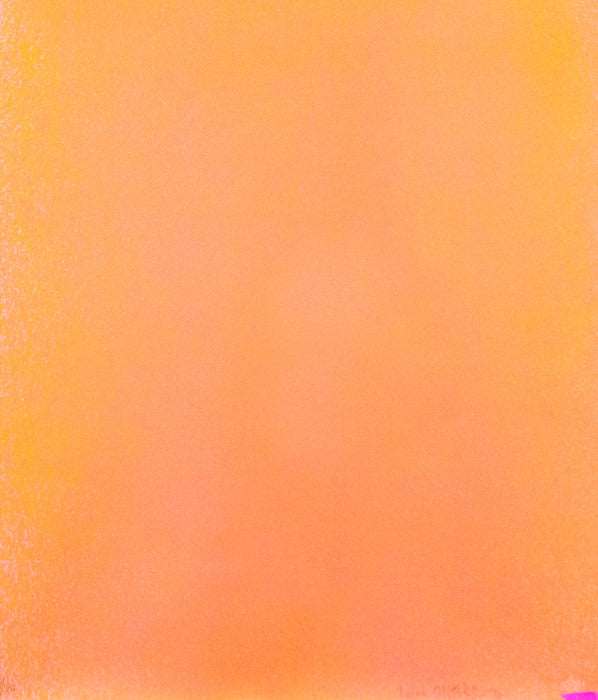 "JULES OLITSKI ""ORANGE SPRAY"" SILKSCREEN 1970"