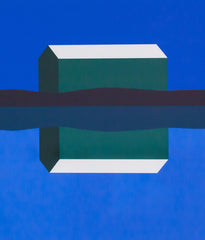 "CHARLES PACHTER ""EMERALD BARN REFLECTED"" SERIGRAPH"