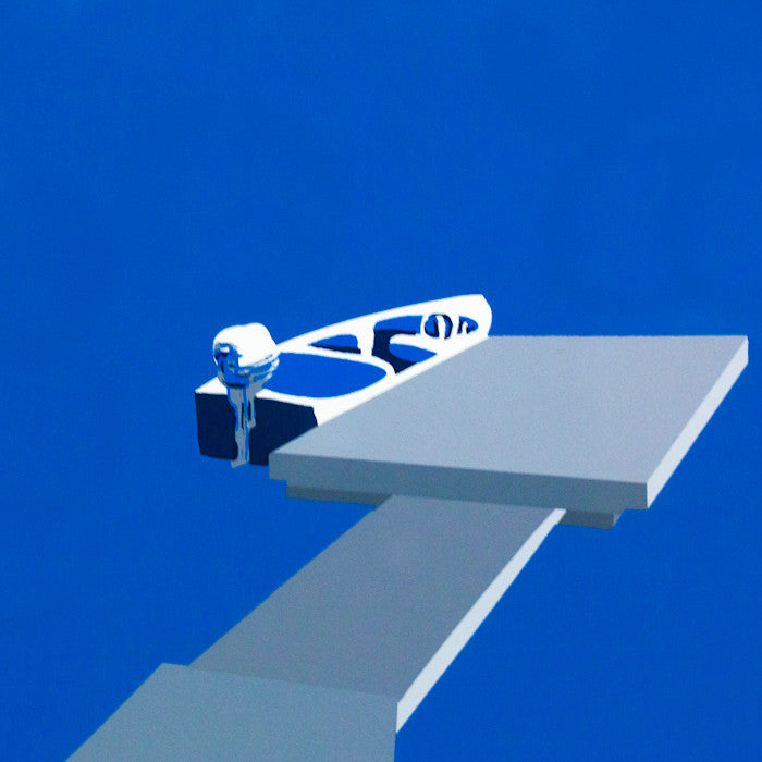 "CHARLES PACHTER ""FLOAT"" 1986"