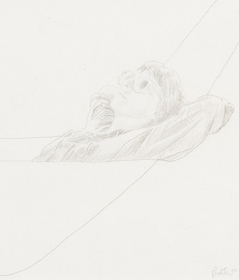 Caviar20, Charles Pachter, drawing, hammock, artwork