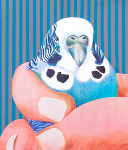 Charles Pachter, prints, graphics, bird, Caviar20