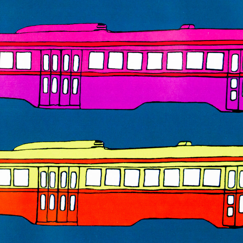 Charles Pachter Street Cars Toronto