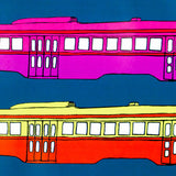 "CHARLES PACHTER ""STREETCAR RAINBOW"" 1976"