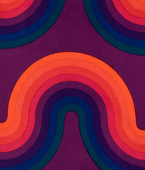 "VERNER PANTON ""CURVE"" 13FT PANEL, 1969"