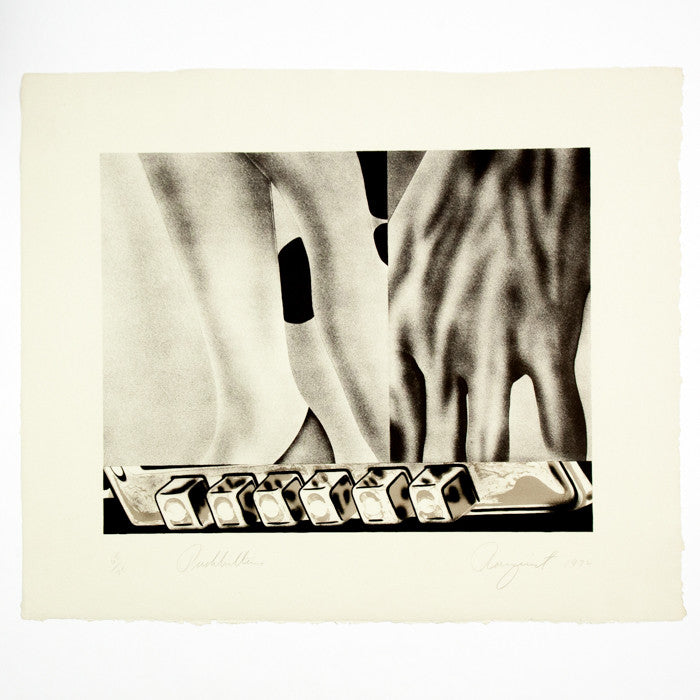 Caviar20, James Rosenquist, Push Buttons, print, litho