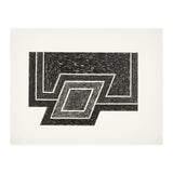 "FRANK STELLA ""CONWAY"" SCREENPRINT, 1974"