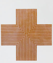 "FRANK STELLA ""OURAY"" LITHOGRAPH, 1970"
