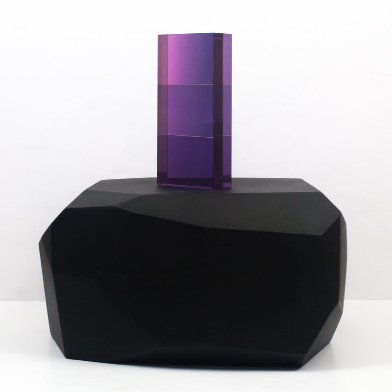 Vasa Mihich sculpture Caviar20 purple