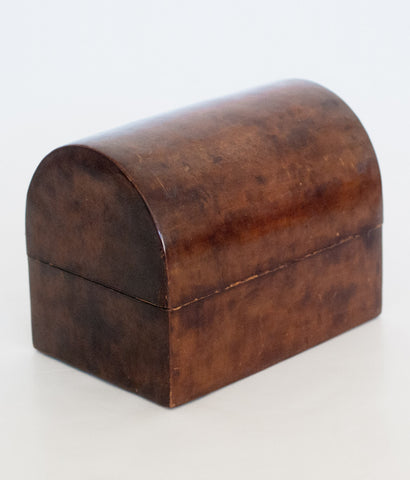 WATER BUFFALO LEATHER GENTLEMAN'S BOX