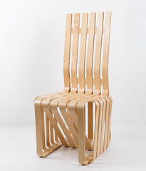 "FRANK GEHRY ""HIGH STICKING"" CHAIR"