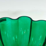 "VILLEROY & BOCH ""GIANT CLOVER"" GLASS BOWL"