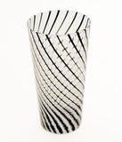 "SET OF ""OP ART"" ITALIAN HIGHBALL GLASSES"