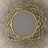 "CURTIS JERE STYLE ""SUNBURST"" MIRROR SCULPTURE"
