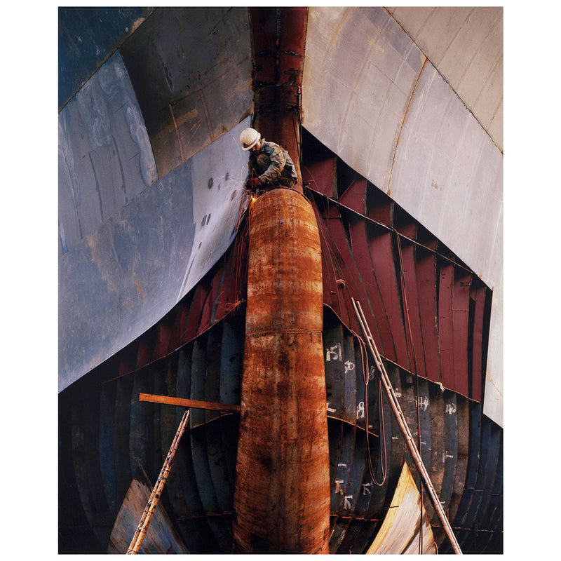 Caviar20 Edward Burtynsky Shipbreaking China Shipyard