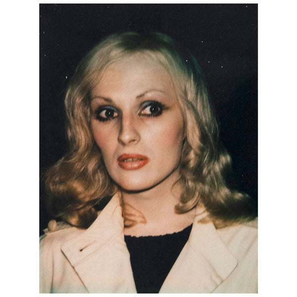 Andy Warhol Candy Darling photograph polaroide 1971 Caviar20