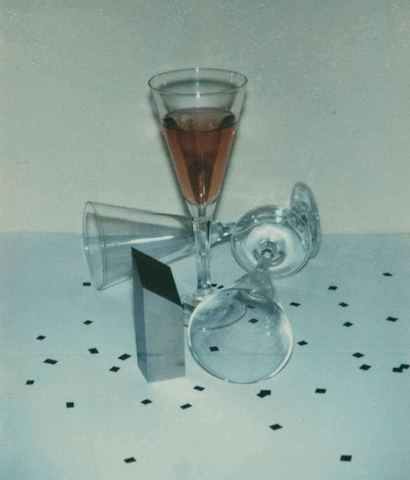 Andy Warhol Committee 2000 Champagne Glasses Polaroid Caviar20