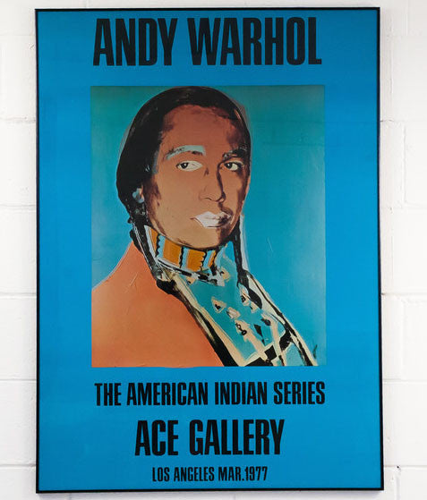 American Indian Andy Warhol