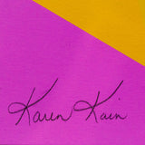 "ANDY WARHOL ""KAREN KAIN"" SCREENPRINT, 1980"