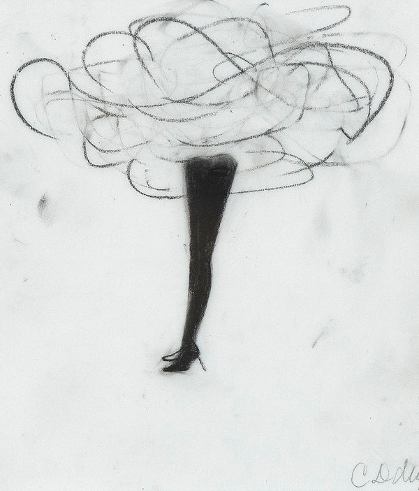 "CATHY DALEY ""X STANDING"" DRAWING,  2011"