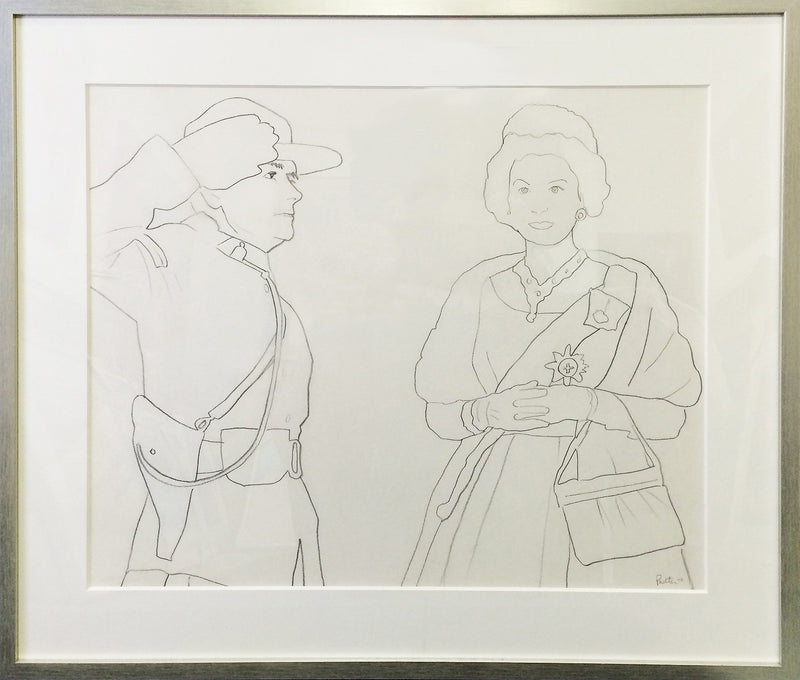 Charles Pachter Drawings, Caviar20