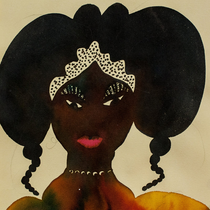 "CHRIS OFILI ""UNTITLED (ROYAL PORTRAITS)"" 2000"