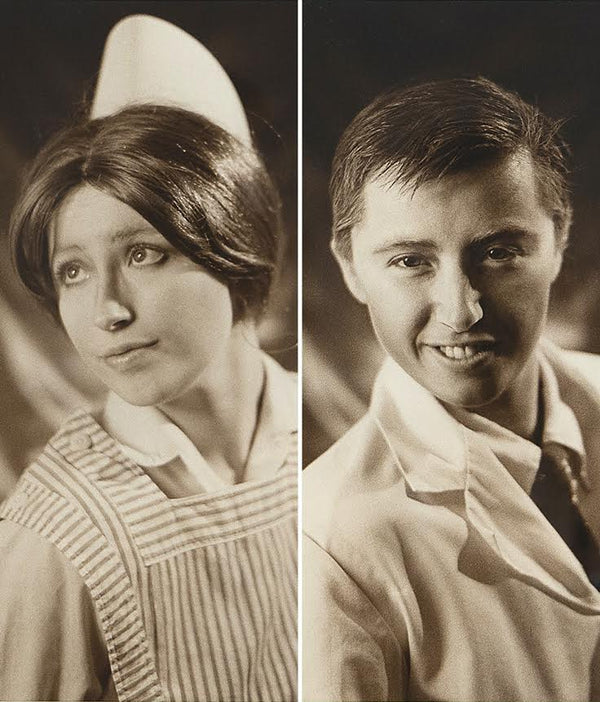 "Cindy Sherman ""Doctor and Nurse"" Diptych, Photograph, 1980, Caviar 20,"