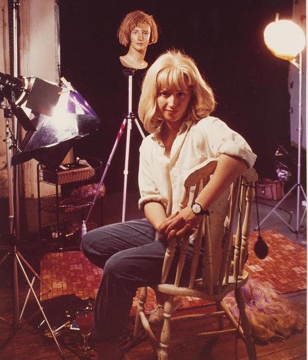 Cindy Sherman the artist in her studio 1983 Caviar20